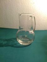Csiszolt üveg kancsó