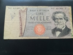 1969-es Olasz 1000 Lira