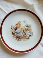 Kahla porcelán mese, gyerek tányér 19,5 cm