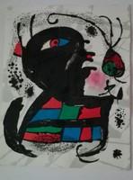 Eredeti Miró litográfia