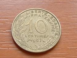 FRANCIA 10 CENTIMES 1967