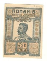 50 bani 1917 Románia aUNC