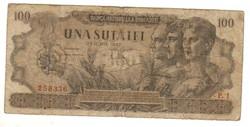 100 lei 1947 junius I. kiadás Románia