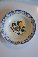 Wilhelmburgi népi tányér