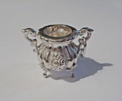 Ezüst szecessziós edény medál