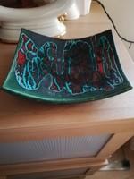 Retró kerámia asztalközép