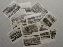 Kassai látképek - 12 db képeslap