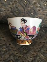 Antik Herendi csésze Ming dekorral