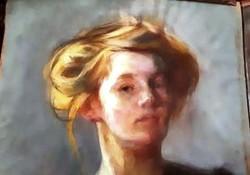 KUNFFY LAJOS - Női Portré-