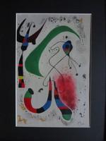 Joan Miro eredeti festménye
