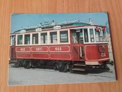 A BKVT több,mint 100 éves motorkocsija -KÖZLEKEDÉSI FOTÓ ,KÉPESLAP, LEVELEZŐLAP