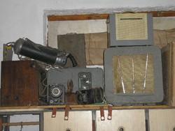 Antik Magyar mozigép hangszóró+trafóval kiállítási darab ritkaság