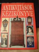 Antikvitások könyve 1610-1920 + fegyverek +sok témakör tételes sorolás ajándékozhatóan