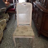 Chippendél barok 4 darab törtfehér szék