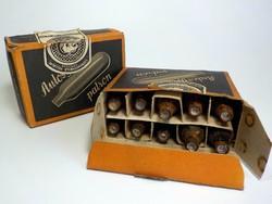 2 doboz régi autosyphon patron Szénsavtermelő Vállalat Répcelak