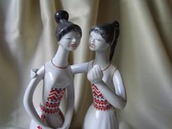 Hollóházi Pletykázó Lányok