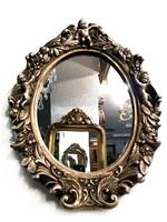 Antik ezüst színű angyalos tükör