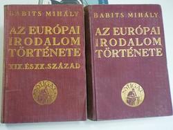 Babits mihály : Az európai irodalom története XIX. és XX. század