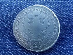 I. Ferenc ezüst 20 krajcár 1806 A /id1432/