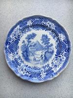 Német keménycserép tányér
