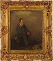 Szüle Péter (1886–1944): Férfi portré