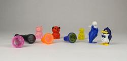 0U564 Gyűjtői Kinder figurák különlegességek 9 db