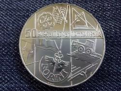 50 éves a Magyar Nemzeti Bank ezüst 100 Forint 1974 /id3521/