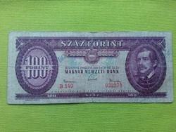 100 Forint 1962