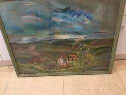 Csiszár Elek festménye