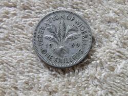 KK80 1959 Nigéria 1 shilling
