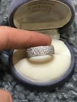 Ezüst designer  925 gyűrű 19mm átmérő