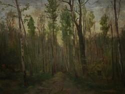 Anton Denzel (1888-1962) : Erdei út