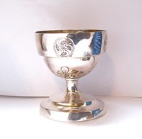 XVIII.századi ezüst kupa.