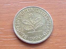 NÉMET NSZK 5 PFENNIG 1990  D