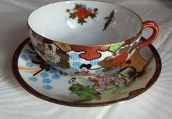 Gyönyörű, japán, tojáshéj porcelán teás készlet