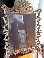 Gyönyörűséges réz képkeret fénykép tartó 26x35cm