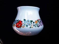 Aquincumi retró kalocsai mintás öblös váza