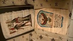 Egyiptomi papirusz képek egyben