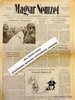 1999 február 26  /  MAGYAR NEMZET  /  SZÜLETÉSNAPRA RÉGI EREDETI ÚJSÁG Szs.:  4215