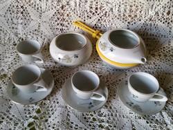Zsolnay - Török János kávés készlet