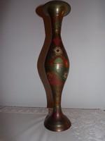 Indiai réz váza