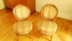 Szalongarnitúra szék, 1860-70-es évekből