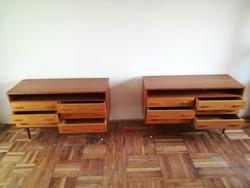 Mid century design komód, sideboard