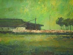 Gádor Emil (1911-1998) : Zöld táj