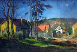 """Móritz Sándor( 1924-1966 ) """" Reggeli fények """""""