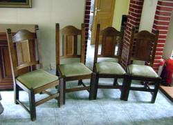 Tölgyfa székek igazi tömör fából