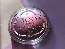 Mátyás ezüst 500 Ft 28 gramm 0,900