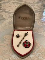 Miniatűr Koronázási Jelvény 900-as ezüst