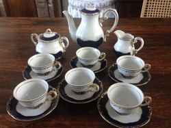 Zsolnay kávéskészlet