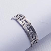Görög mintájú ezüst gyűrű